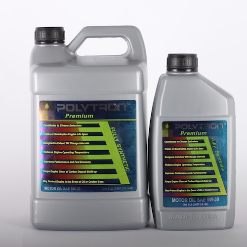 Polytron motor oils and engine treatments for Synthetic motor oil change